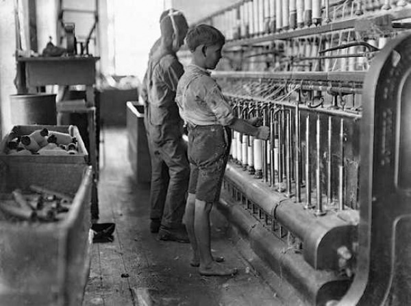 worker woman factory Immigrant