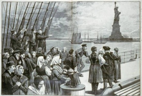 a history of italian immigration in the united states Historical census statistics on the foreign-born  for the history of census regions  3 immigration to the united states increased from 599,000 in.