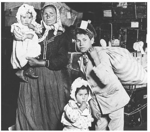 Response To Immigrants Immigrants In 1900 S New York City