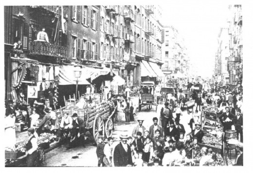 Immigrants In 1900 S New York City Why They Left Home